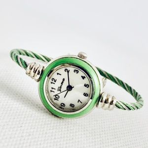 Geneva Cable Cuff Women's Watch